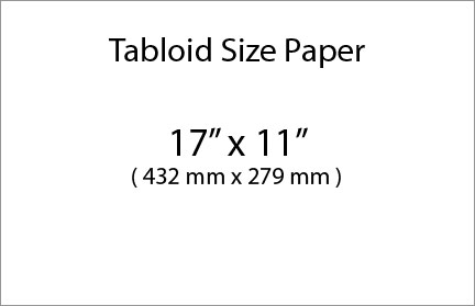 Paper size in Canada and USA